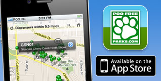 Poo Free Parks - Available in the App Store